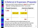 3 deferral of expenses prepaids24