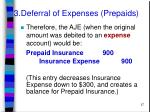3 deferral of expenses prepaids27
