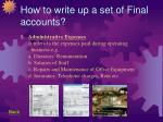 how to write up a set of final accounts39