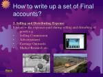 how to write up a set of final accounts41