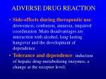 adverse drug reaction1