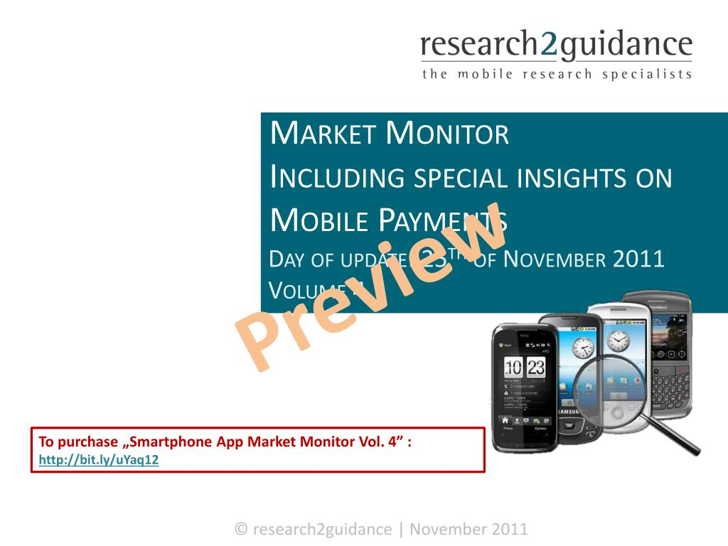 smartphone app market monitor including special insights on mobile payments l.