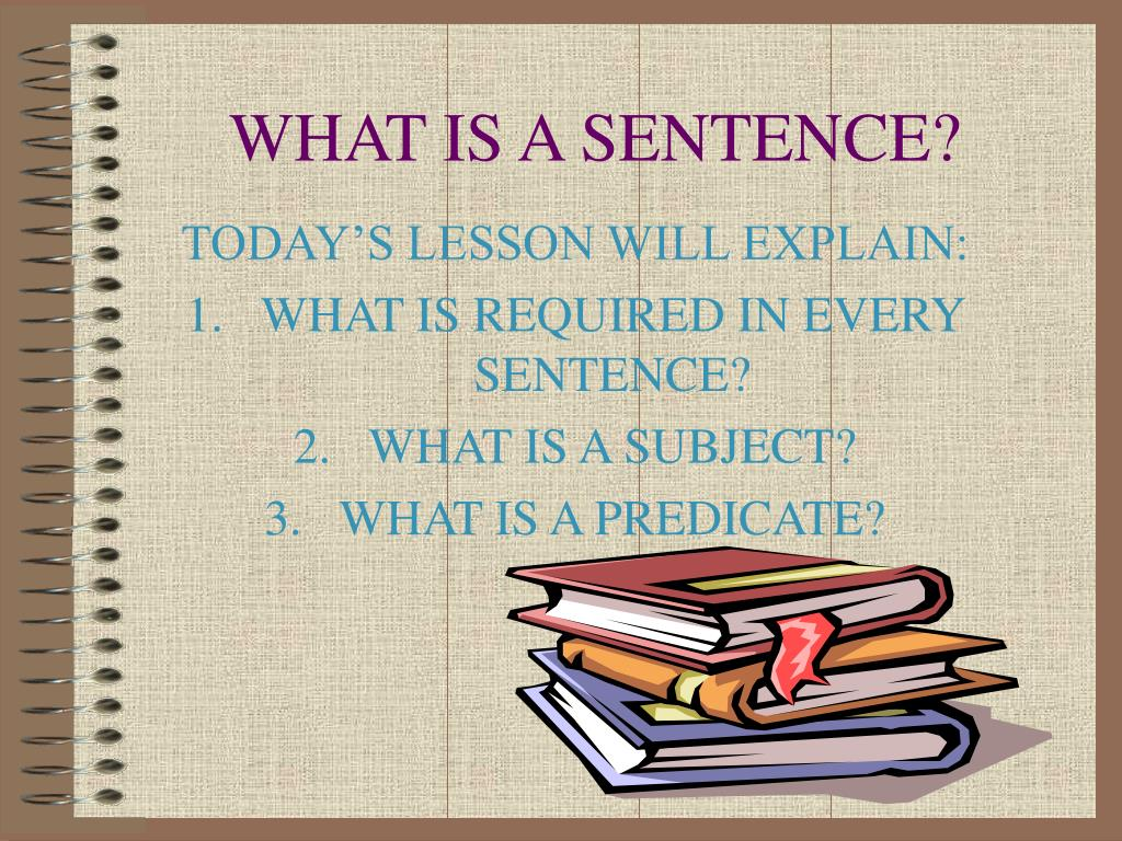 what is a sentence l.