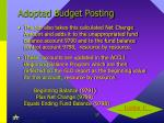 adopted budget posting1