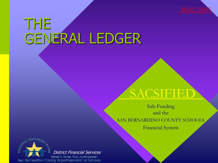 the general ledger n.