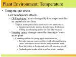 plant environment temperature9