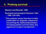 4 prolong survival27