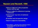 nazzaro and neuwelt 1990