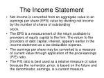 the income statement4