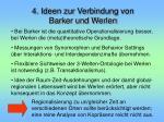 4 ideen zur verbindung von barker und werlen
