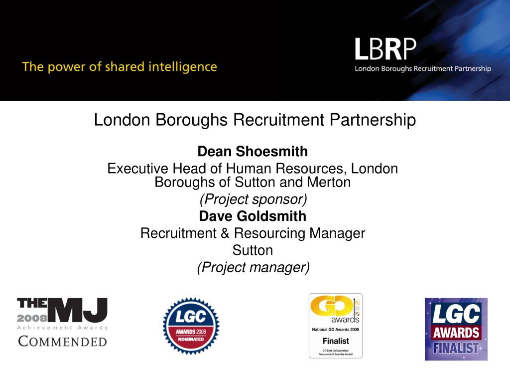 london boroughs recruitment partnership l.