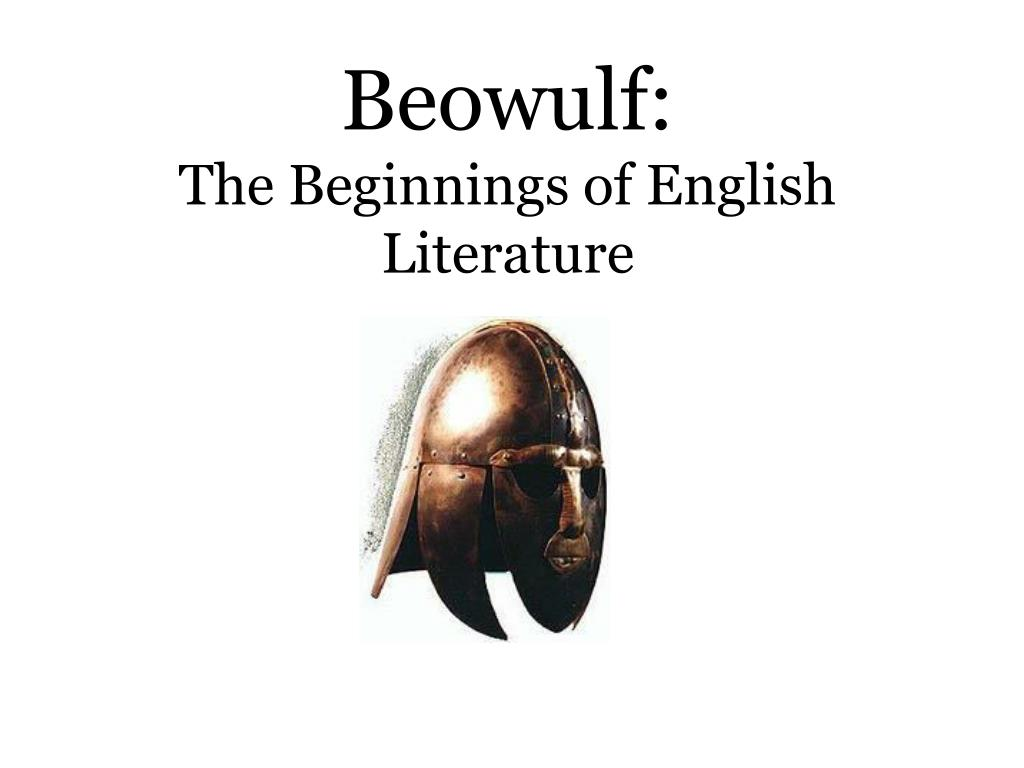 beowulf the beginnings of english literature l.