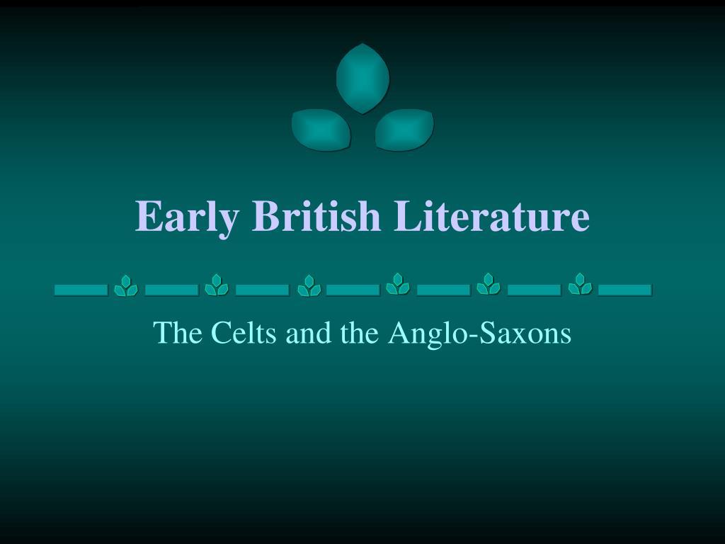 early british literature l.