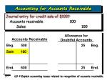 accounting for accounts receivable17
