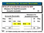 accounting for accounts receivable23