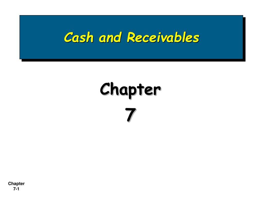cash and receivables l.