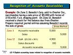 recognition of accounts receivables12