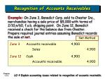 recognition of accounts receivables13