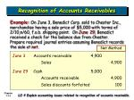 recognition of accounts receivables14