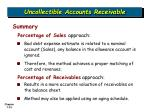 uncollectible accounts receivable33