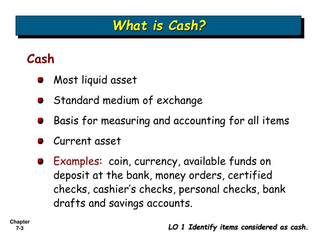 What is Cash?