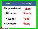 word taboo word s3