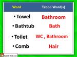 word taboo word s6