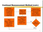 continual reassessment method cont
