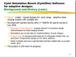 cytel simulation bench cytelsim software for adaptive designs background and history cont