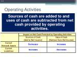 operating activities23