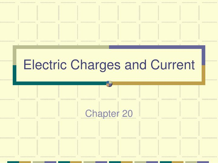electric charges and current n.