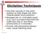 elicitation techniques19