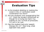 evaluation tips25