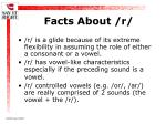 facts about r