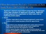 p baer investments pty ltd v university of new south wales 2007 nswlec 128