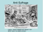 anti suffrage