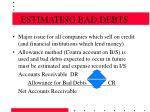 estimating bad debts18