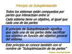 principio de suboptimizaci n
