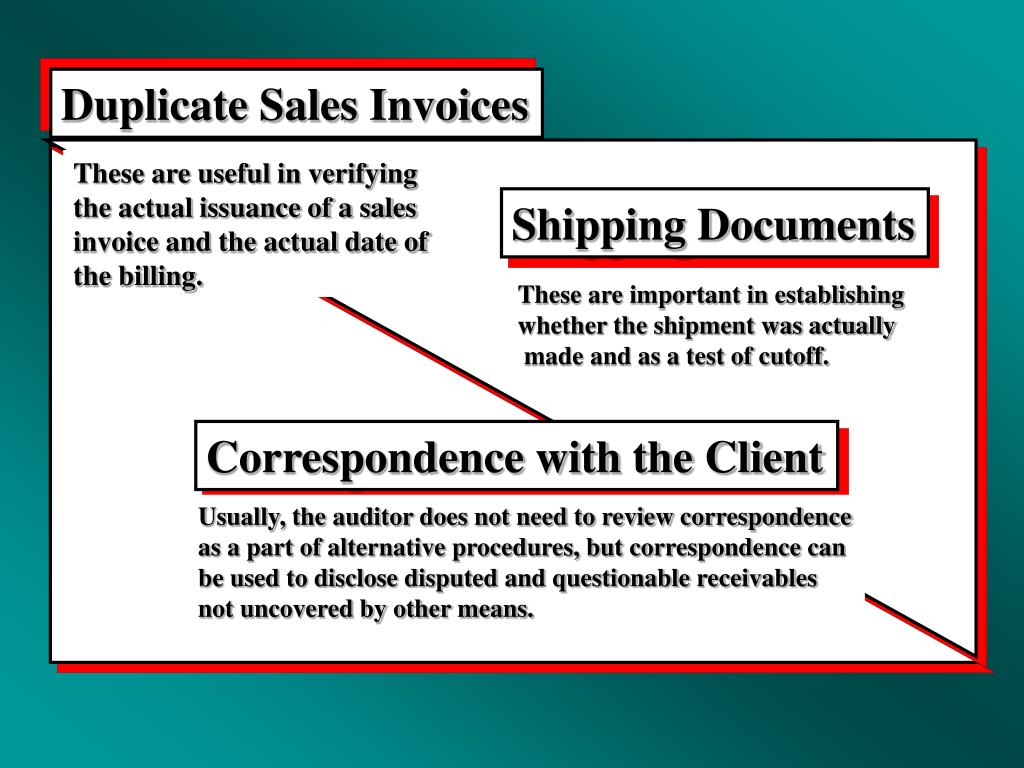 Duplicate Sales Invoices