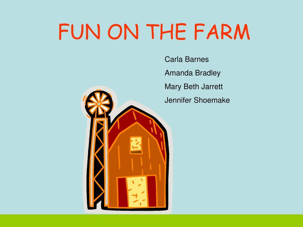 fun on the farm l.