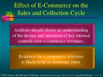 effect of e commerce on the sales and collection cycle10