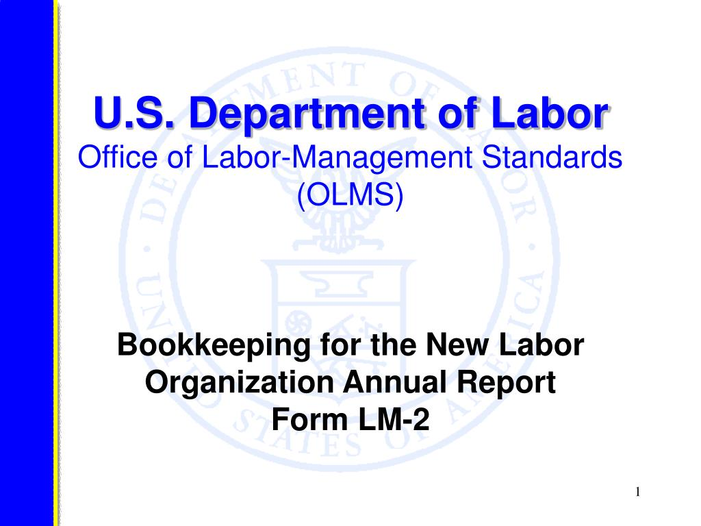 U.S. Department of Labor