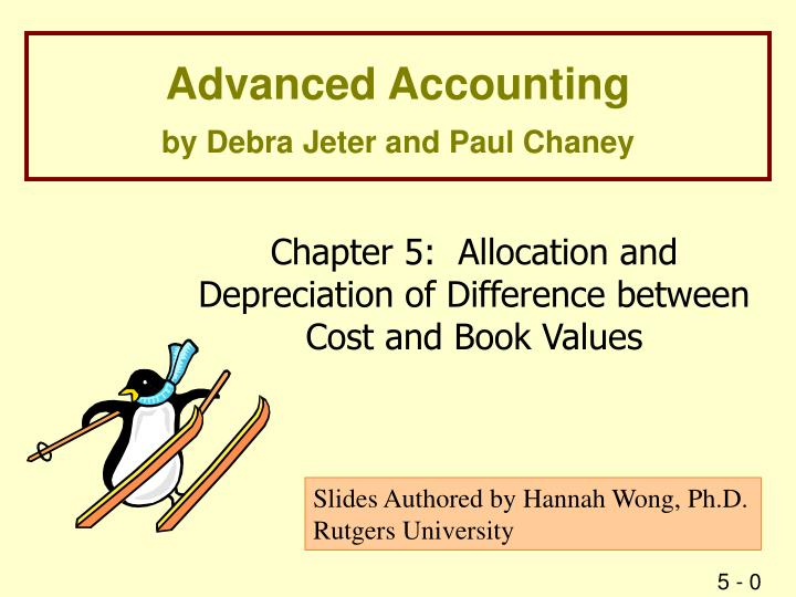 advanced accounting by debra jeter and paul chaney n.