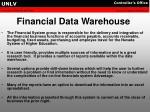 financial data warehouse