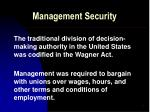 management security3