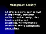 management security4