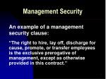 management security5