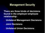 management security6