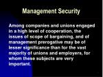 management security8