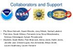 collaborators and support
